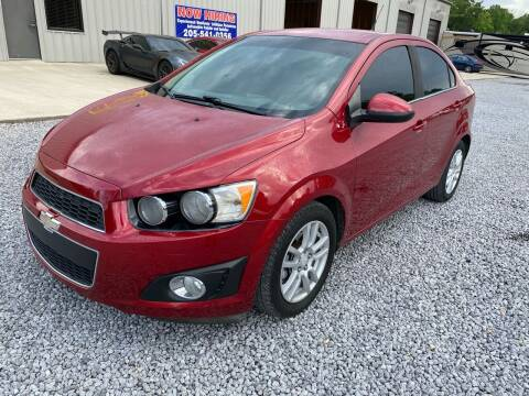 2012 Chevrolet Sonic for sale at Alpha Automotive in Odenville AL