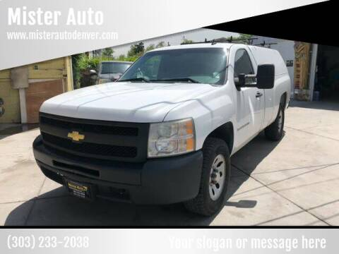 2009 Chevrolet Silverado 1500 for sale at Mister Auto in Lakewood CO