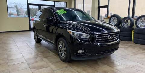 2013 Infiniti JX35 for sale at My Town Auto Sales in Madison Heights MI