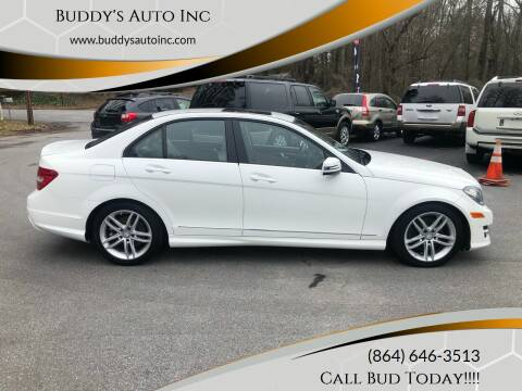 2014 Mercedes-Benz C-Class for sale at Buddy's Auto Inc in Pendleton SC