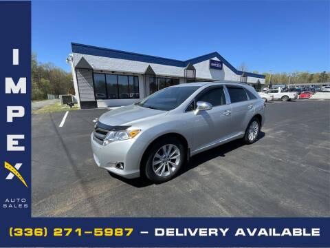2014 Toyota Venza for sale at Impex Auto Sales in Greensboro NC