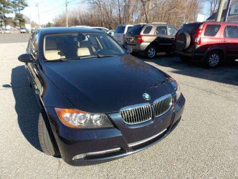 2007 BMW 3 Series for sale at Wheels and Deals in Springfield MA