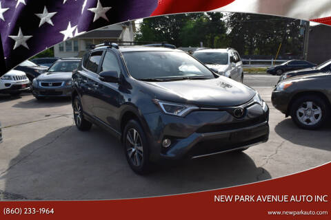 2017 Toyota RAV4 for sale at New Park Avenue Auto Inc in Hartford CT