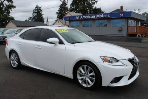 2014 Lexus IS 250 for sale at All American Motors in Tacoma WA