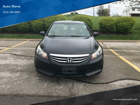 2012 Honda Accord for sale at Auto Nova in St Louis MO
