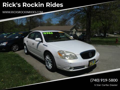 2006 Buick Lucerne for sale at Rick's Rockin Rides in Reynoldsburg OH