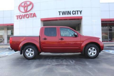 2013 Nissan Frontier for sale at Twin City Toyota in Herculaneum MO