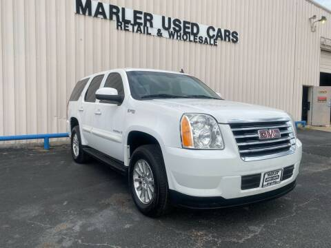 2009 GMC Yukon for sale at MARLER USED CARS in Gainesville TX