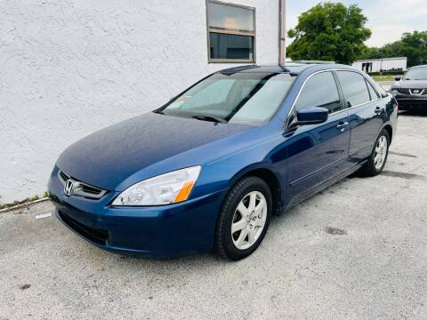 2005 Honda Accord for sale at AUTO PLUG in Jacksonville FL