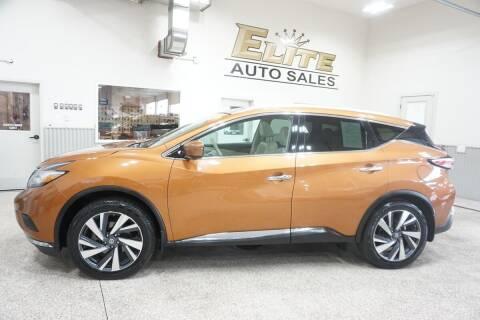 2017 Nissan Murano for sale at Elite Auto Sales in Ammon ID