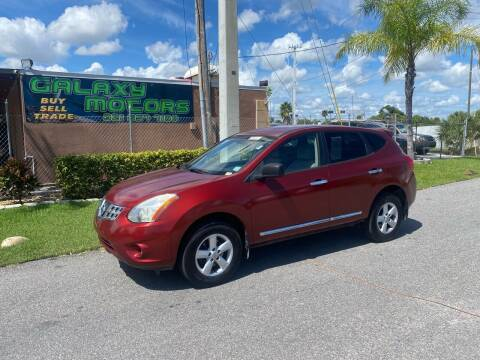 2012 Nissan Rogue for sale at Galaxy Motors Inc in Melbourne FL