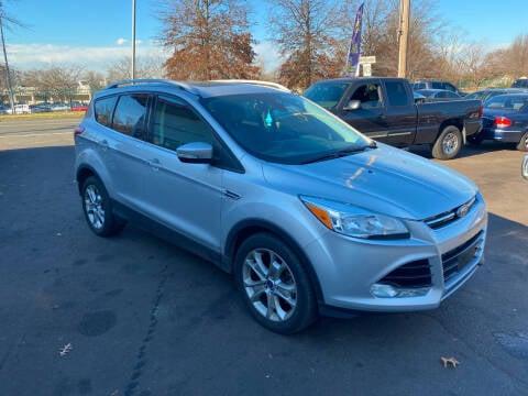2015 Ford Escape for sale at Vuolo Auto Sales in North Haven CT