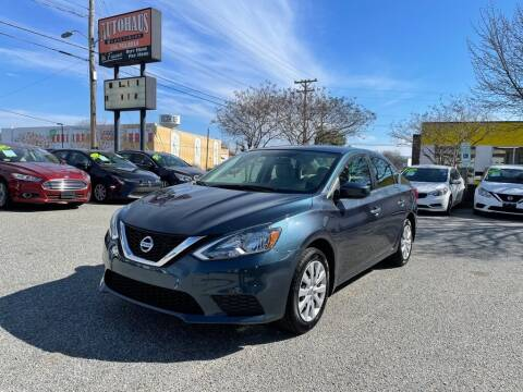 2017 Nissan Sentra for sale at Autohaus of Greensboro in Greensboro NC