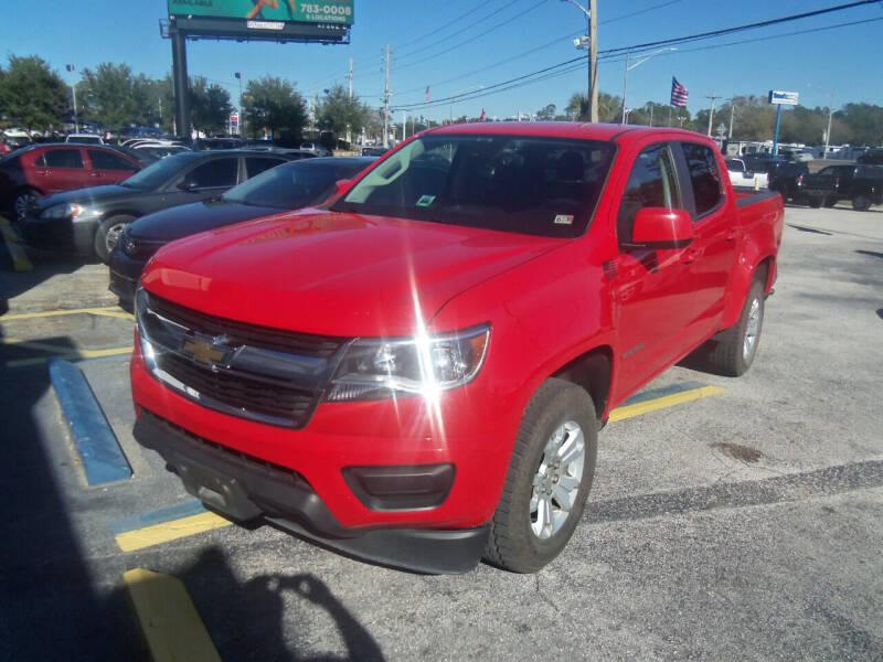 2016 Chevrolet Colorado for sale at ORANGE PARK AUTO in Jacksonville FL