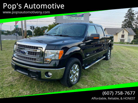 2014 Ford F-150 for sale at Pop's Automotive in Homer NY