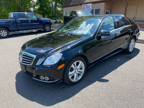 2011 Mercedes-Benz E-Class for sale at Suburban Wrench in Pennington NJ