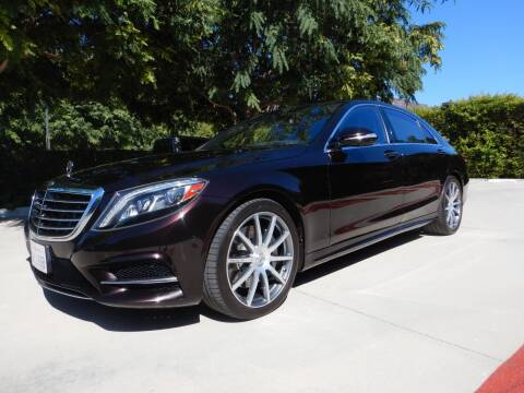2015 Mercedes-Benz S-Class for sale at California Cadillac & Collectibles in Los Angeles CA