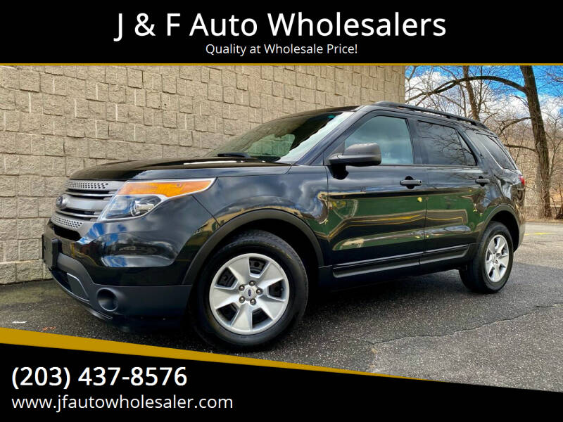 2013 Ford Explorer for sale at J & F Auto Wholesalers in Waterbury CT