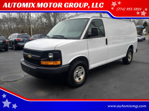 2013 Chevrolet Express Cargo for sale at AUTOMIX MOTOR GROUP, LLC in Swansea MA