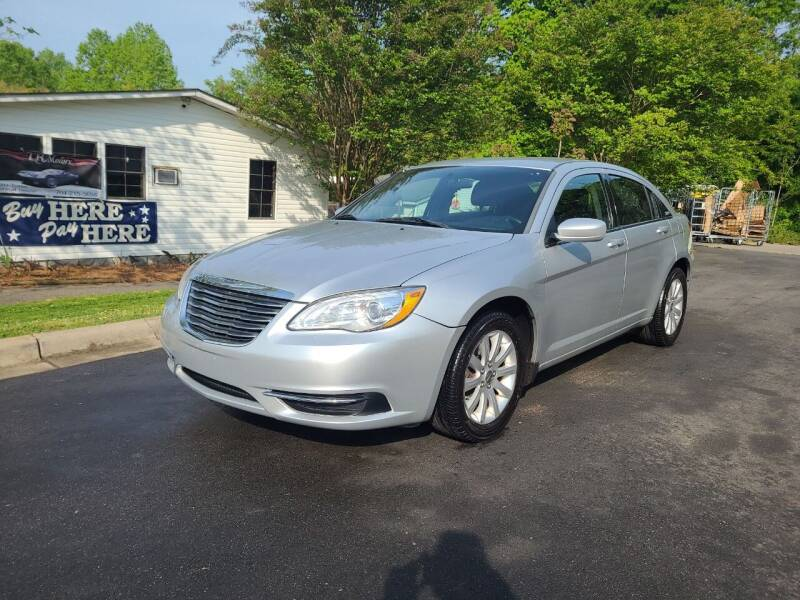 2011 Chrysler 200 for sale at TR MOTORS in Gastonia NC