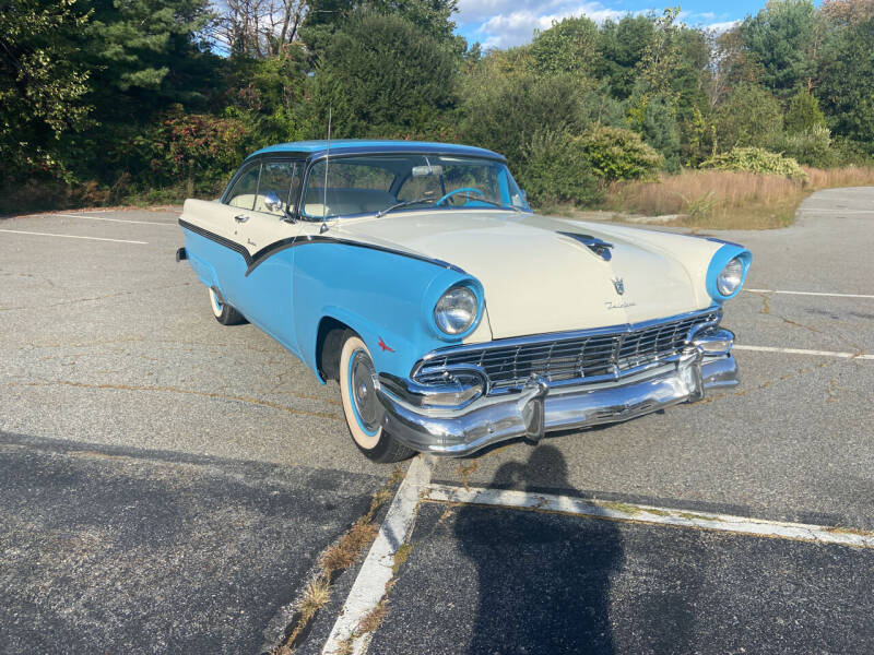1956 Ford Victoria for sale at Clair Classics in Westford MA