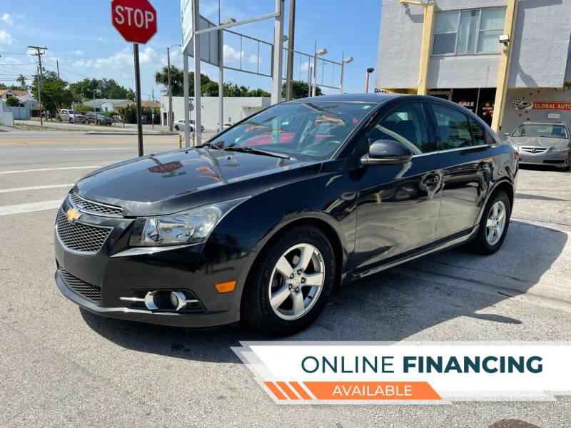 2014 Chevrolet Cruze for sale at Global Auto Sales USA in Miami FL