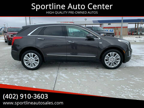 2017 Cadillac XT5 for sale at Sportline Auto Center in Columbus NE