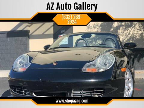 2001 Porsche Boxster for sale at AZ Auto Gallery in Mesa AZ