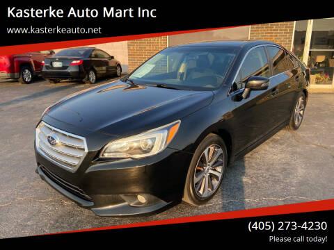 2015 Subaru Legacy for sale at Kasterke Auto Mart Inc in Shawnee OK