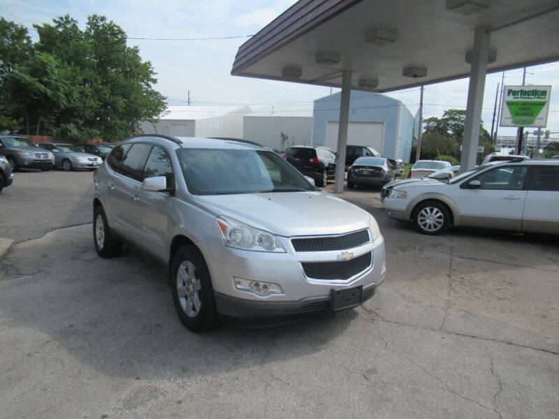2012 Chevrolet Traverse for sale at Perfection Auto Detailing & Wheels in Bloomington IL