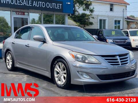 2012 Hyundai Genesis for sale at MWS Wholesale  Auto Outlet in Grand Rapids MI
