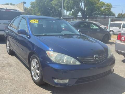 2005 Toyota Camry for sale at River City Auto Sales Inc in West Sacramento CA