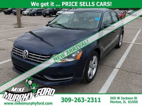 2013 Volkswagen Passat for sale at Mike Murphy Ford in Morton IL
