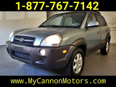 2005 Hyundai Tucson for sale at Cannon Motors in Silverdale PA