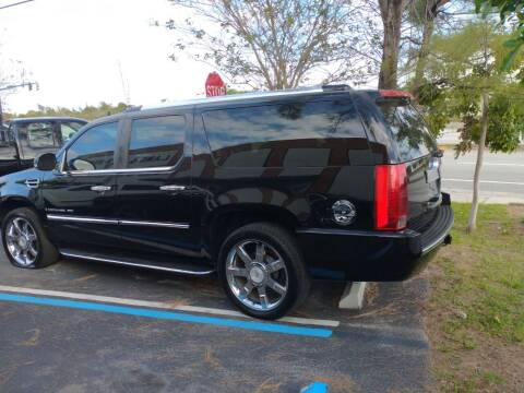 2008 Cadillac Escalade ESV for sale at LAND & SEA BROKERS INC in Deerfield FL