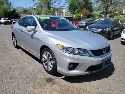 2014 Honda Accord for sale at CENTRAL AUTO GROUP in Raritan NJ