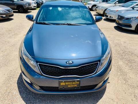 2015 Kia Optima for sale at Good Auto Company LLC in Lubbock TX