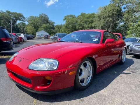 1993 Toyota Supra for sale at SOUTH SHORE AUTO GALLERY, INC. in Abington MA