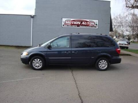 2007 Chrysler Town and Country for sale at Motion Autos in Longview WA
