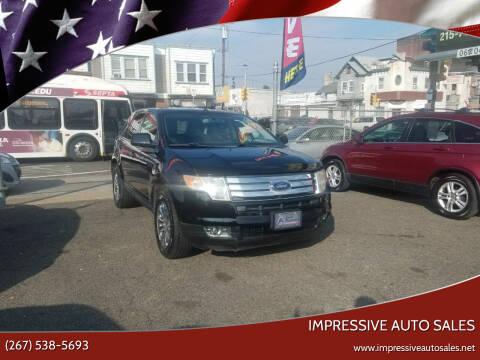 2007 Ford Edge for sale at Impressive Auto Sales in Philadelphia PA