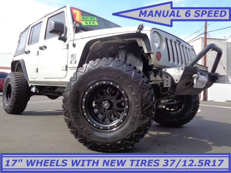 2007 Jeep Wrangler Unlimited for sale at ALL STAR TRUCKS INC in Los Angeles CA