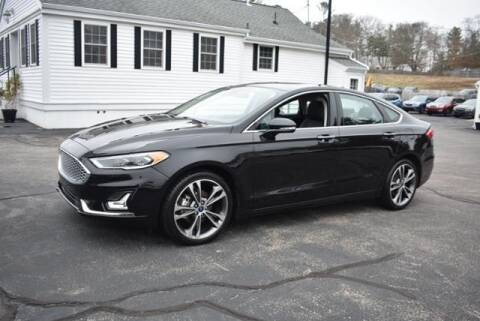 2020 Ford Fusion for sale at AUTO ETC. in Hanover MA