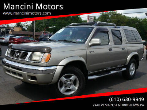 2000 Nissan Frontier for sale at Mancini Motors in Norristown PA