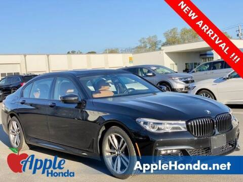 2017 BMW 7 Series for sale at APPLE HONDA in Riverhead NY