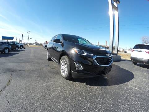 2021 Chevrolet Equinox for sale at MARTINDALE CHEVROLET in New Madrid MO