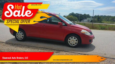 2008 Nissan Versa for sale at Shamrock Auto Brokers, LLC in Belmont NH