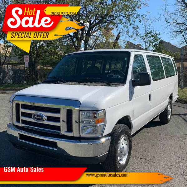 2013 Ford E-Series Wagon for sale at GSM Auto Sales in Linden NJ