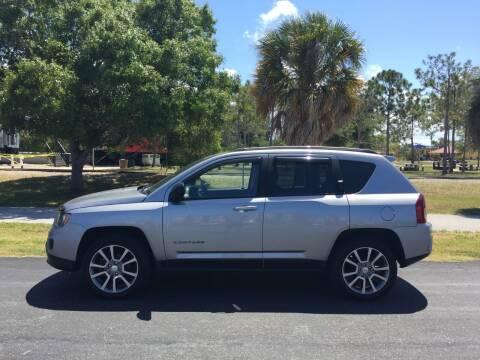 2016 Jeep Compass for sale at Mason Enterprise Sales in Venice FL