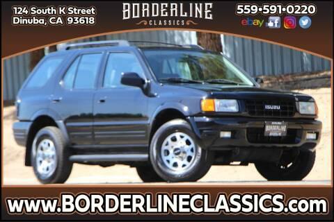 1998 Isuzu Rodeo for sale at Borderline Classics in Dinuba CA