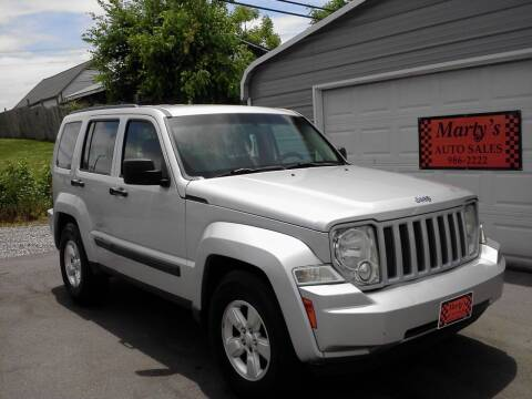 2011 Jeep Liberty for sale at Marty's Auto Sales in Lenoir City TN